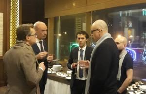 Rencontre avec L'ambassadeur Français en Ukraine